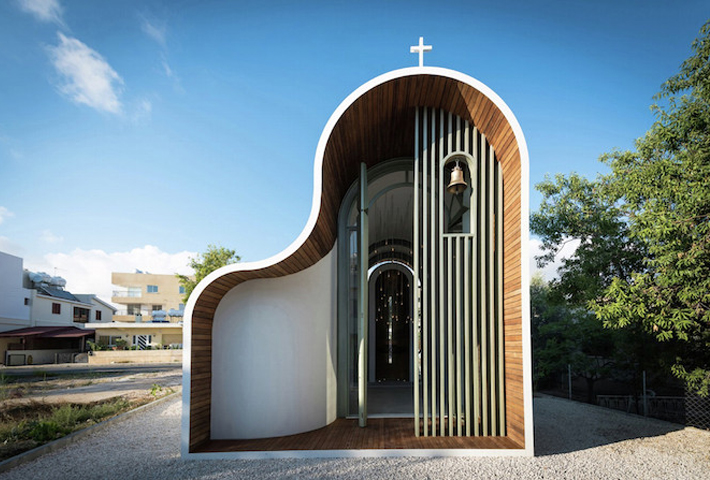 Architect Michail Georgiou Re-Imagines A Greek Orthodox Chapel