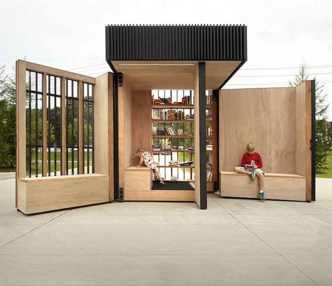 Reinvented Reading Spaces By Atelier Kastelic Buffey Ignant