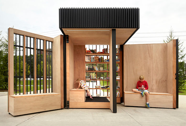 Reinvented Reading Spaces by Atelier Kastelic Buffey