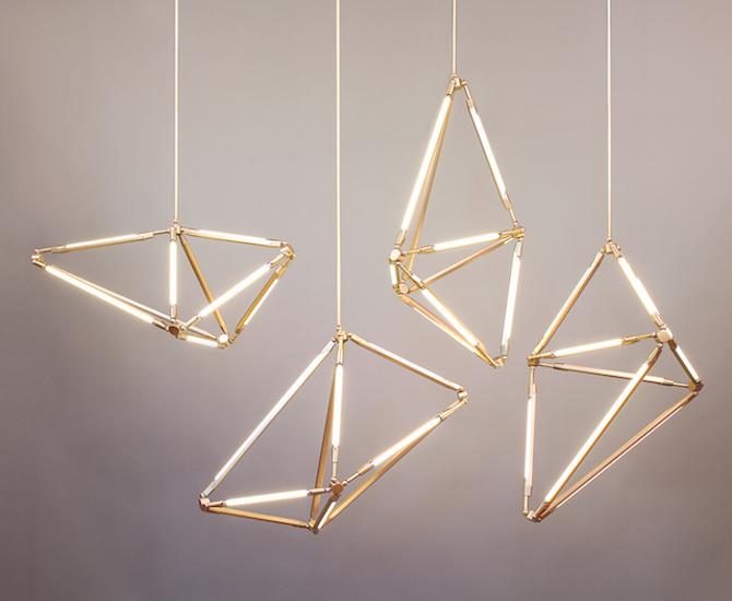 Sculptural Lighting By Bec Brittain Ignant Com