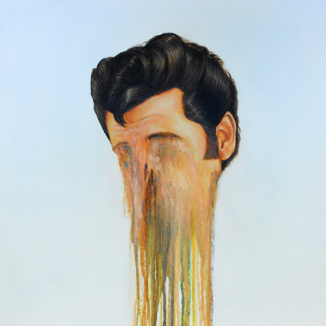 liquified rainbow portraits by brian donnelly ignantcom