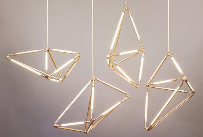 Sculptural Lighting By Bec Brittain