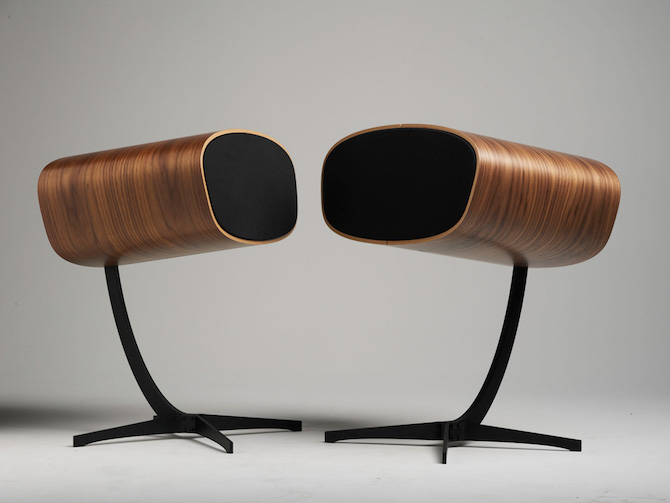 A Set Of Speakers That Channels Mid-Century Modernism