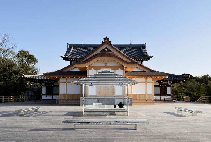 Glass Tea House In Japan By Tokujin Yoshioka