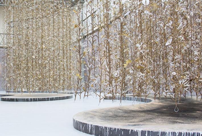 A Hanging Garden Installation By Kris Ruhs