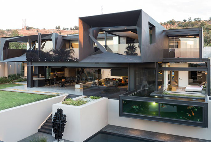 A Contemporary Residence In South Africa By Nico Van Der Meulen Architects