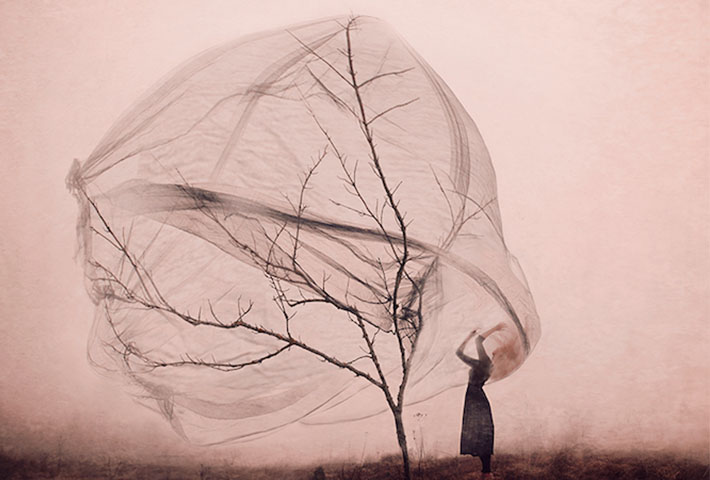 Dreamy Conceptual Self-Portraits By Kylli Sparre