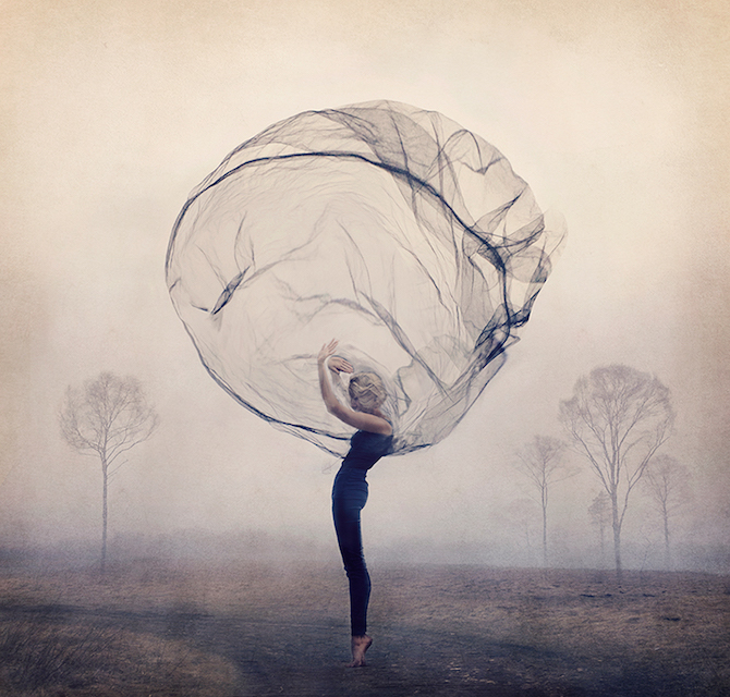Dreamy Conceptual Self Portraits By Kylli Sparre Ignant
