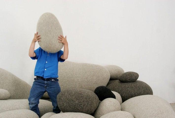 Pebble Floor Cushions By Smarin