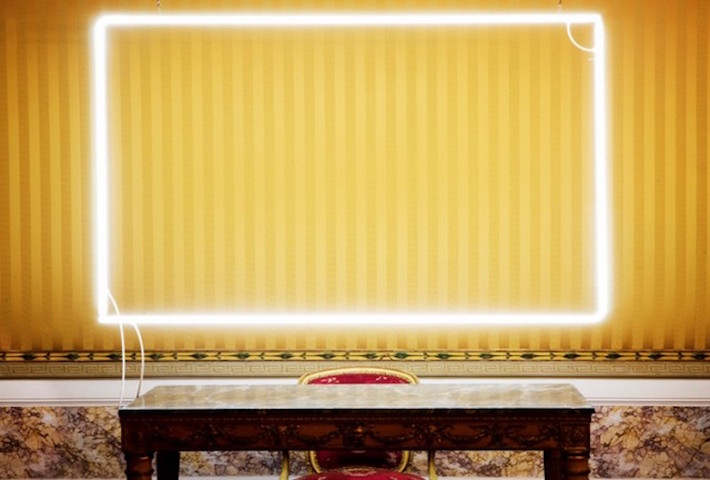 Neon Interventions By Lorenzo Vitturi