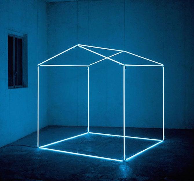 Minimal Light Installations By Massimo Uberti Ignant Com