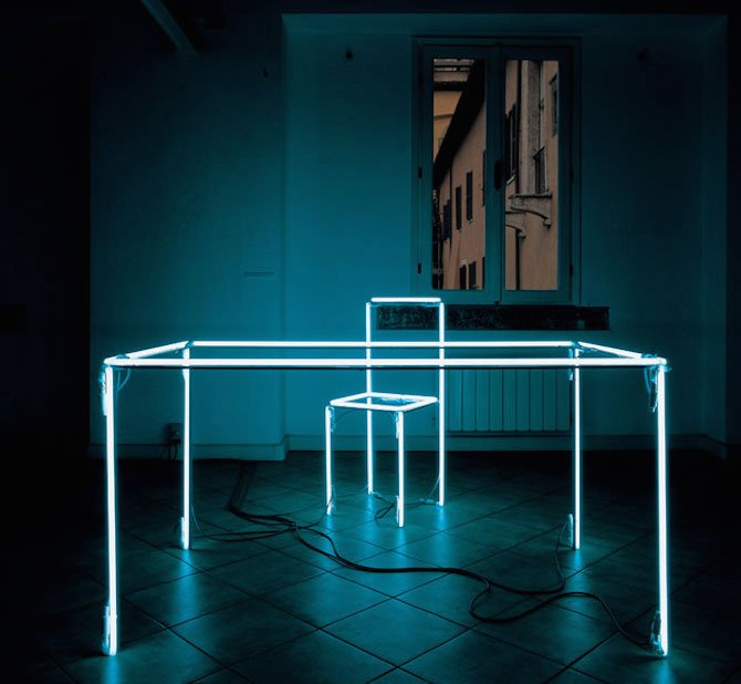 Minimal Light Installations By Massimo Uberti Ignant Com
