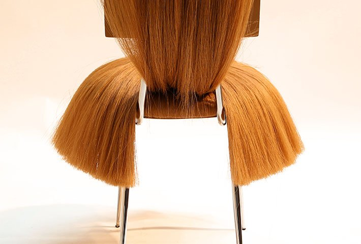 Chairs Adorned With Hair By Kabiljo Inc.