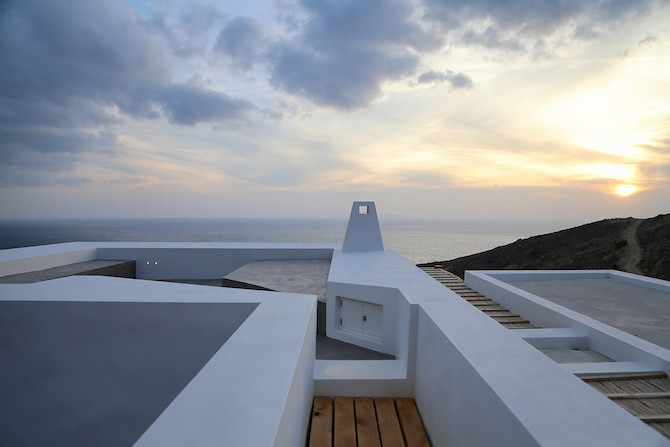 Twin Holiday Homes Overlooking The Aegean