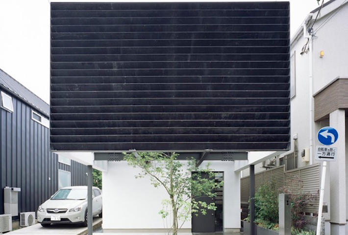 A Box-Shaped House In Tokyo By Apollo Architects
