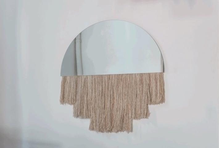 Lunar-Inspired Mirrors By Ben & Aja Blanc