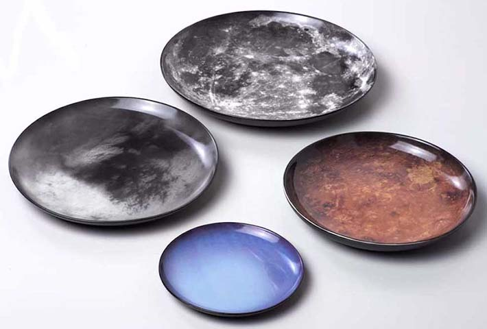 A Cosmic Dinnerware Set By Diesel x Seletti
