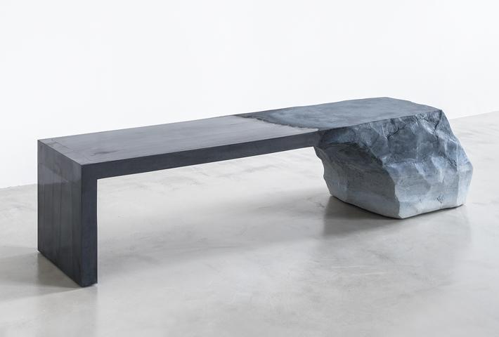 A Sculptural Bench By Fernando Mastrangelo