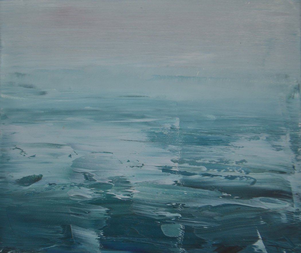 Serene Ocean Paintings By Emma Fineman | iGNANT.com