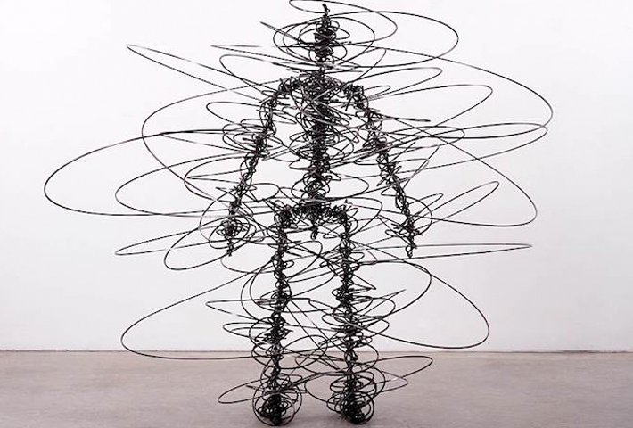 Abstract Human Body Sculptures By Antony Gormley