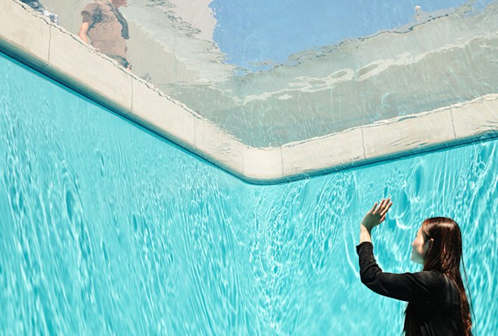 An Illusory Swimming Pool By Leandro Erlich