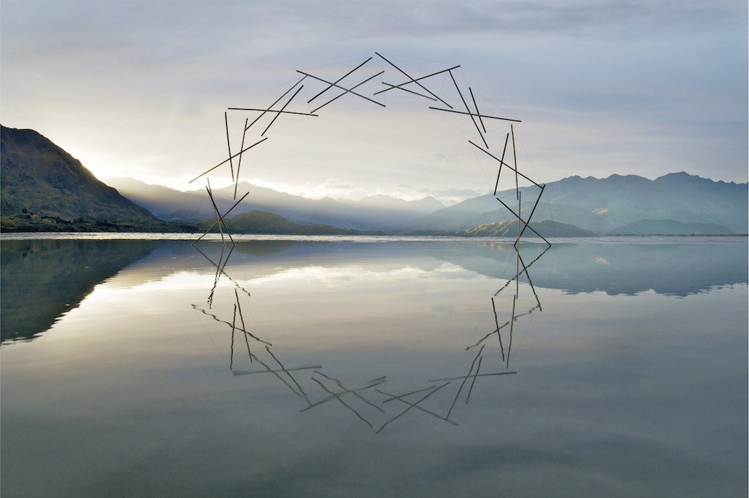 Geometric Sculptures In Nature By Martin Hill