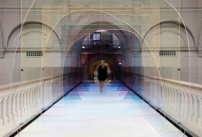 A Tinted Tunnel By Matteo Fogale And Laetitia de Allegri