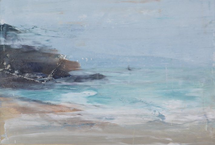 Serene Ocean Paintings By Emma Fineman