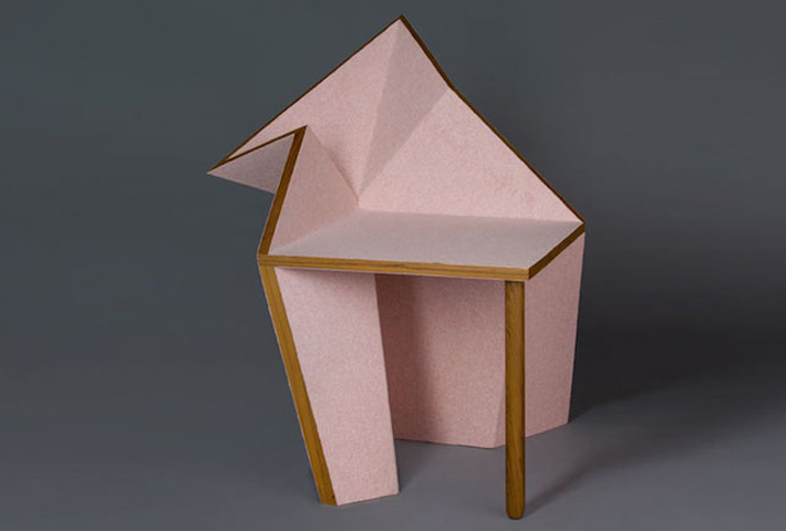 Origami-Inspired Furniture Designs By Aljoud Lootah