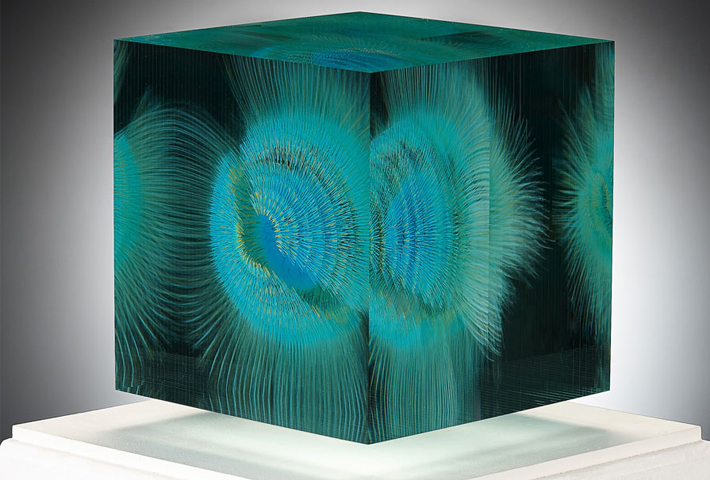 Three-Dimensional Glass Paintings By Wilfried Grootens