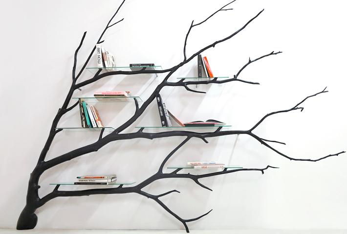A Tree-Shaped Shelf By Sebastian Errazuriz