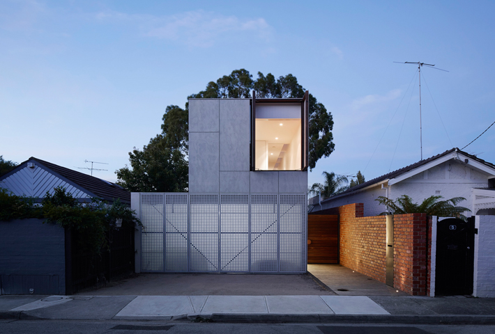 A Concrete Home In Melbourne By Jackson Clements Burrows Architects