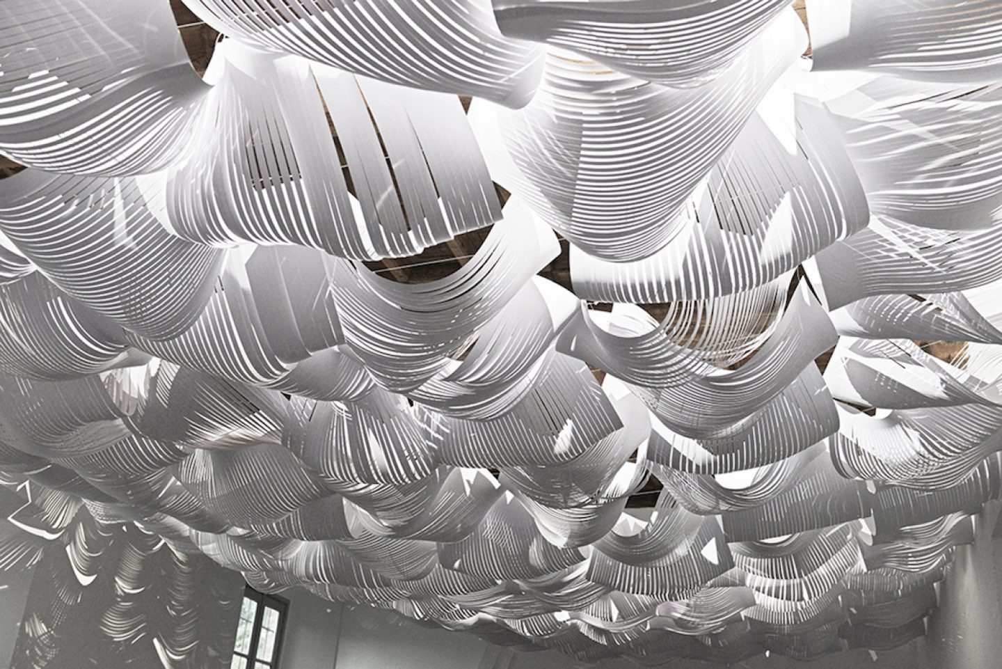 Intricate Paper Installations By Daniele Papuli Ignant
