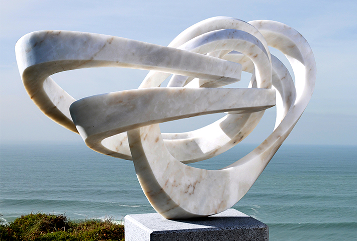 Weightless Marble Sculptures By Georg Scheele