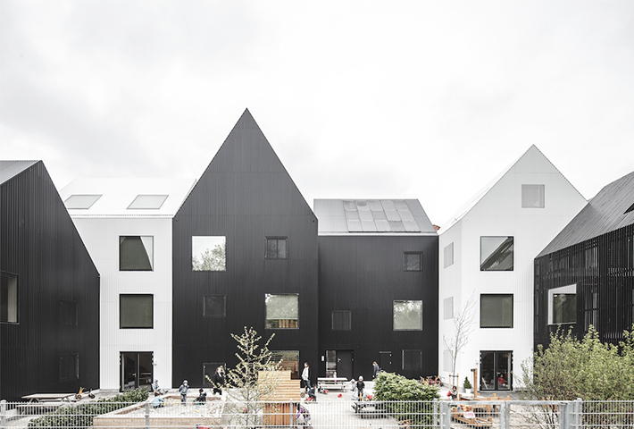 A Kindergarten Inspired By Children's Drawings