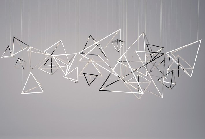 Light Installation Designs By LUUM