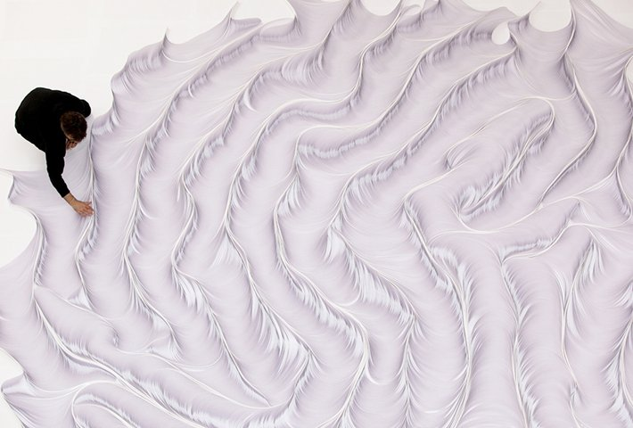 Intricate Paper Installations By Daniele Papuli