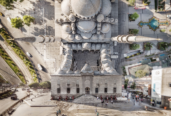 Surreal Cityscapes Of Istanbul By Aydin Buyuktas