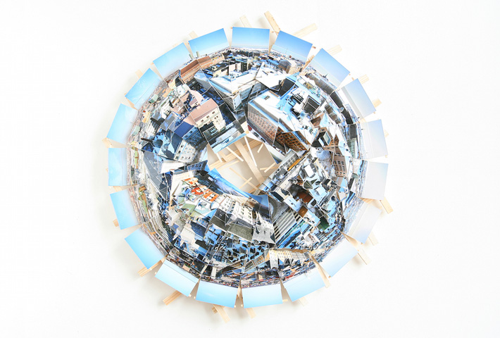 Planet Sculptures Made From Hundreds Of Photographs