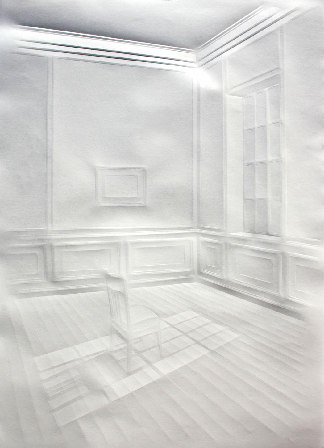 simonschubert(Light on chair),70x50cm,2014