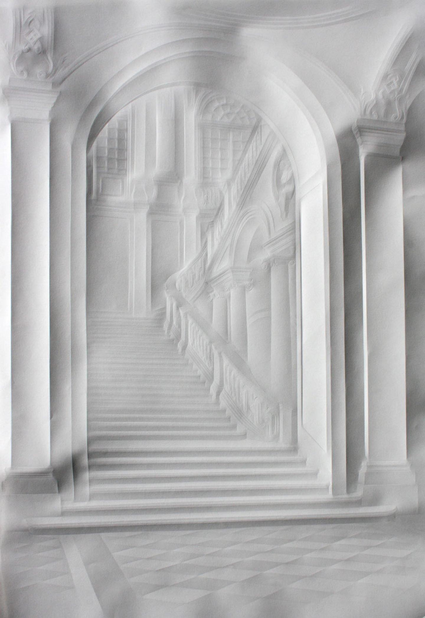 simonschubert(große Treppe), 2014, 70cm x 50cm