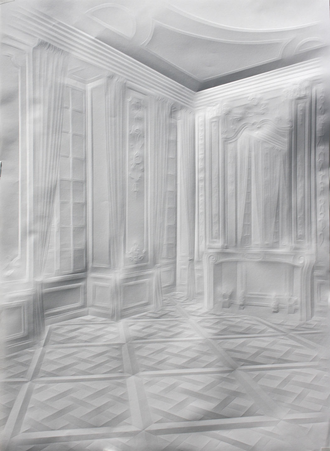 simonschubert(hallway with curtains),2013,70x50