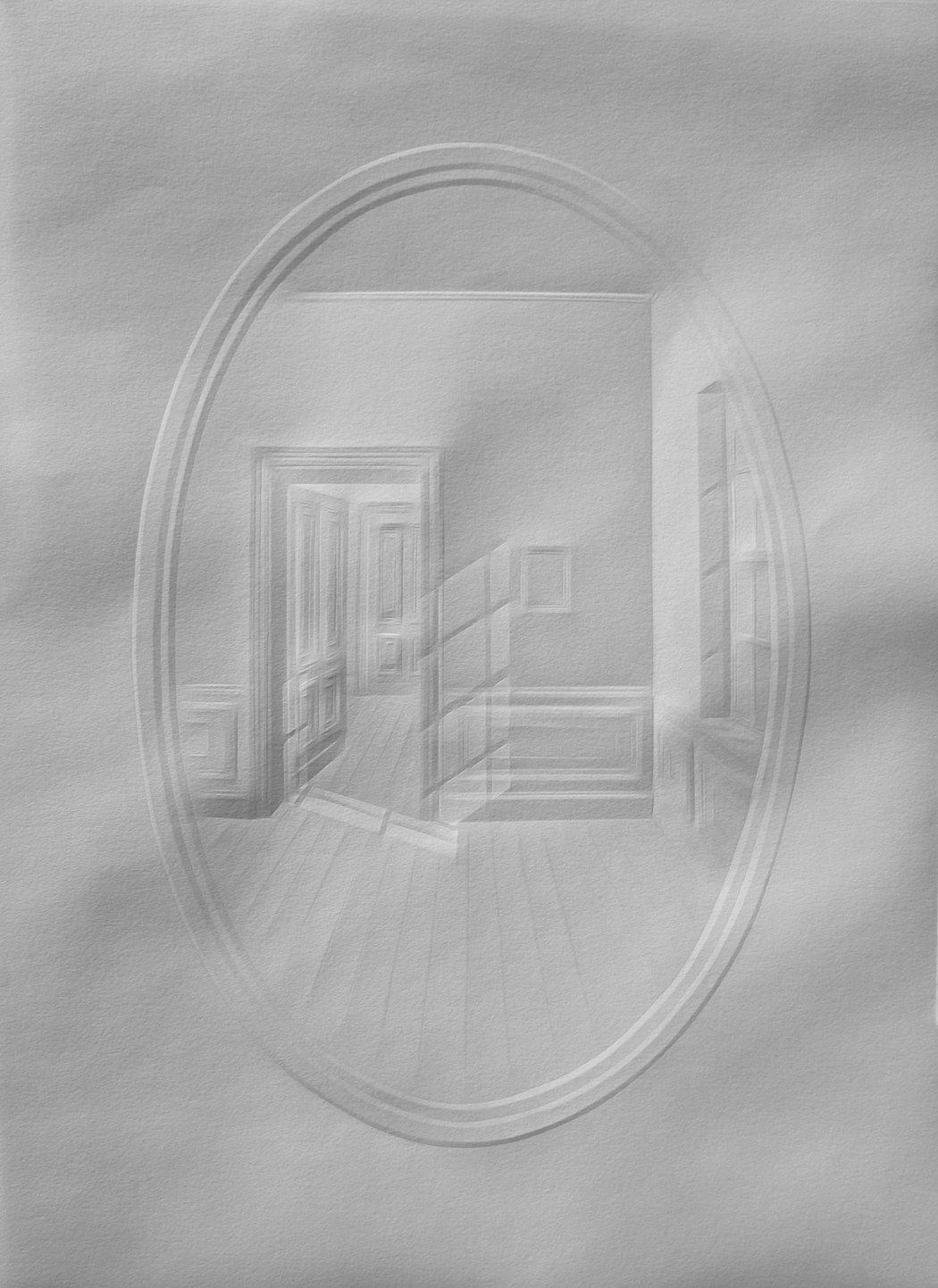 simonschubert(light in mirror),2015, 35cm x 25cm