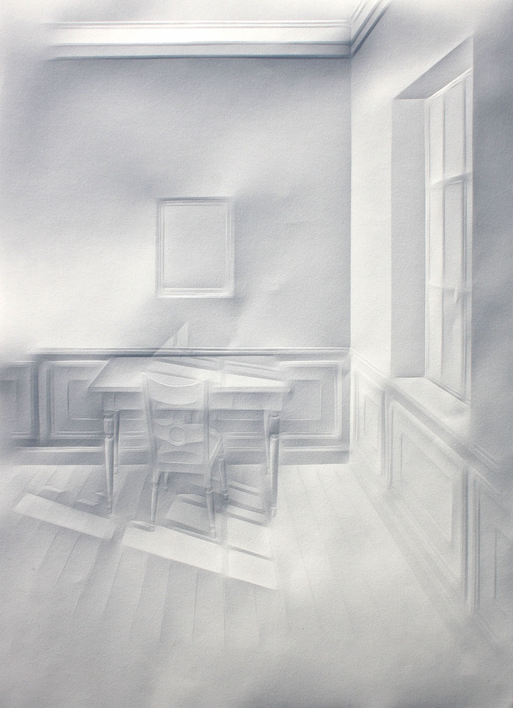 simonschubert(light on desk1), 2015, 50cm x 35cm