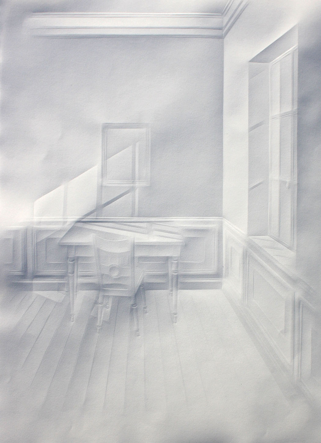 simonschubert(light on desk2), 2015, 50cm x 35cm