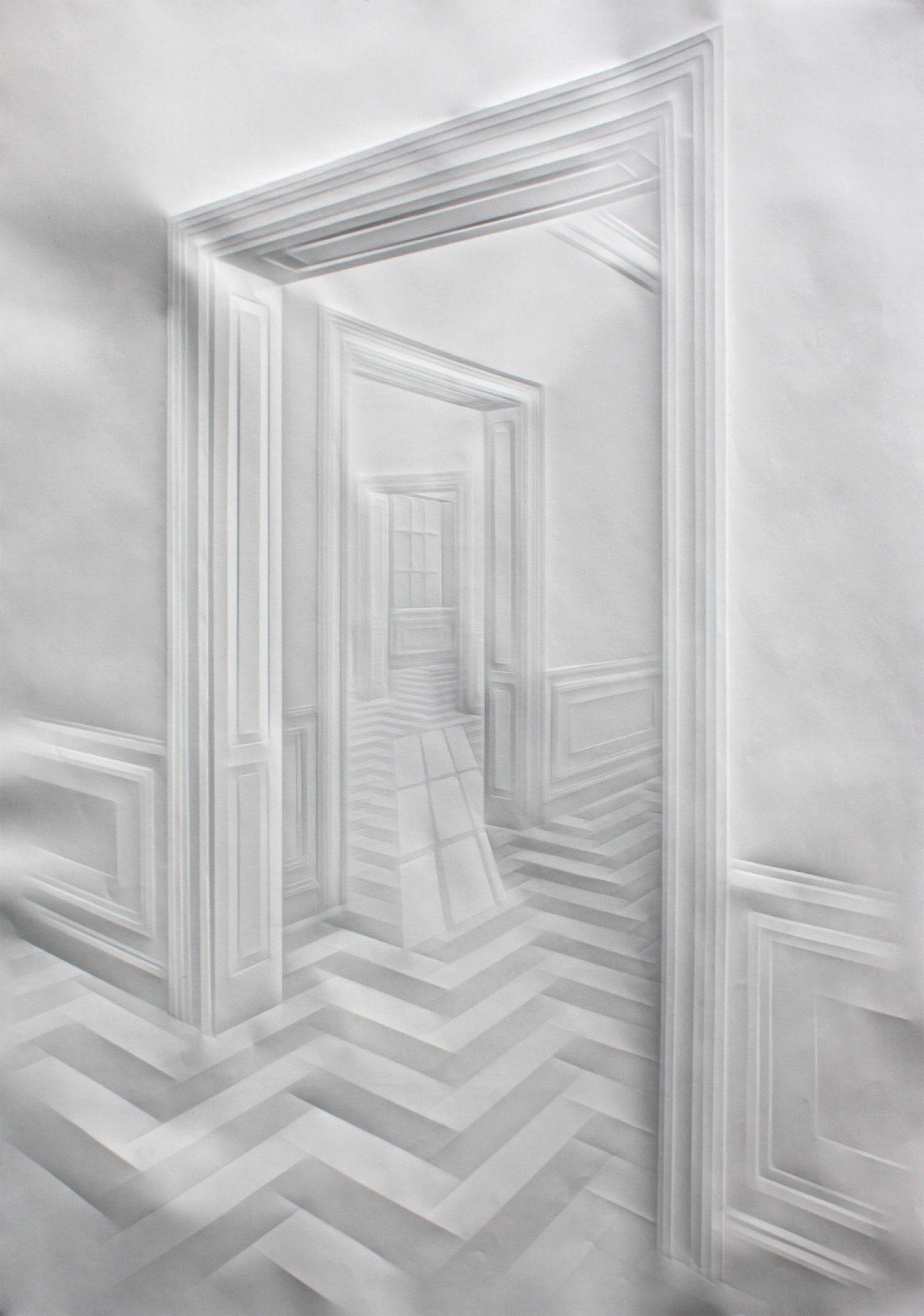 simonschubertohne Titel(Licht in Durchgängen), 2015, 100cmx 70cm