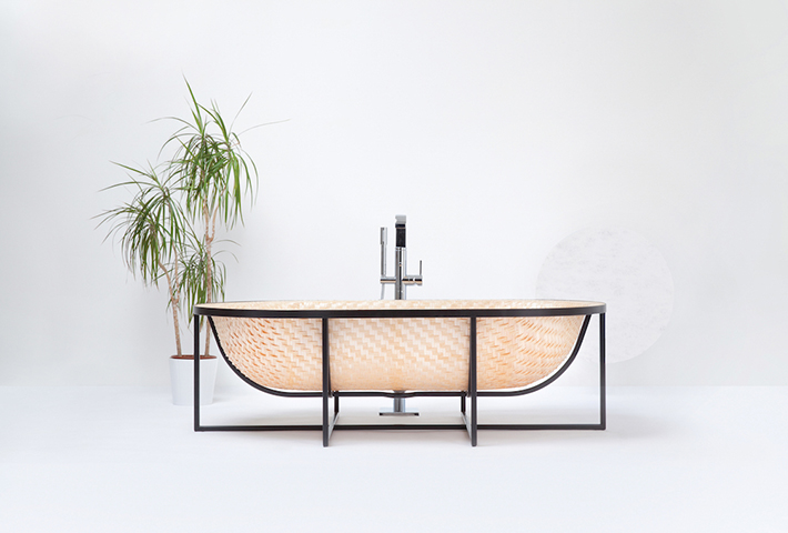 A Bathtub Inspired By Boat Building