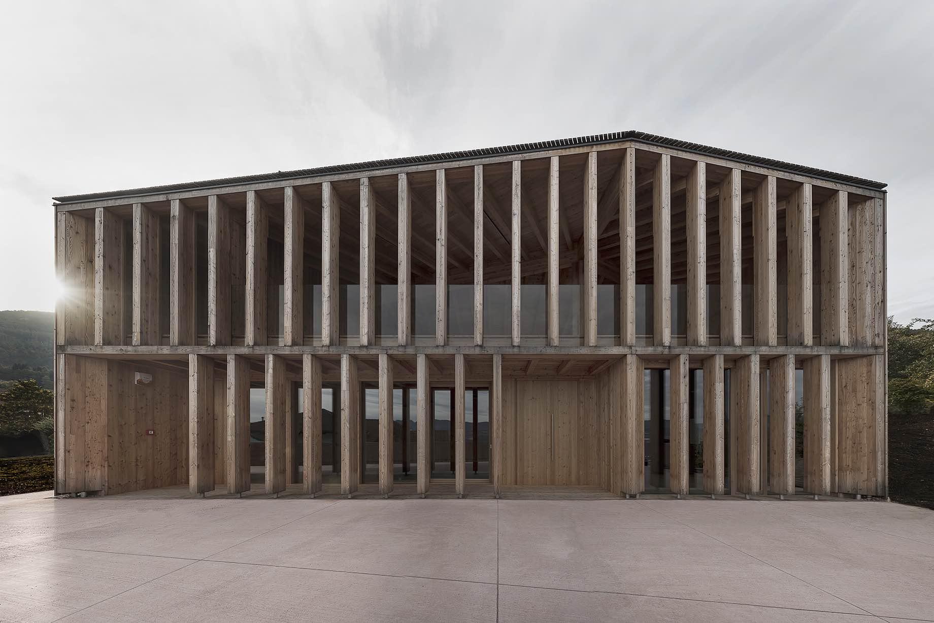 A Timber Community Center By Mirko Franzoso