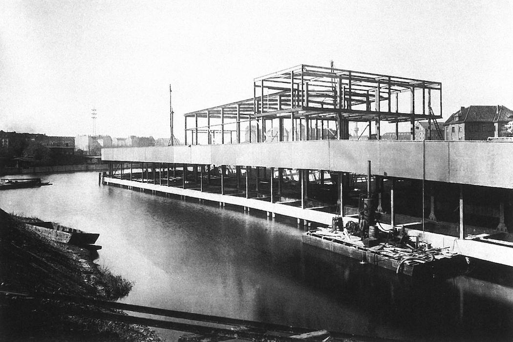 Stahlskelett 1936 ©StADKPB