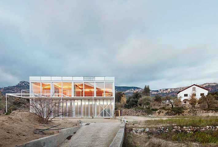 A Two-In-One House In The Spanish Countryside